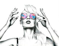 Iggy Azalea 2 by Tiffany Taimoorazy @ redbubble.com