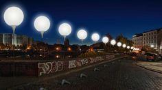 Thierry B On Twitter Berlin Wall Fall Of Berlin Wall Light Installation