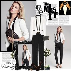 Fine and Dandy - Kate Moss for Mango