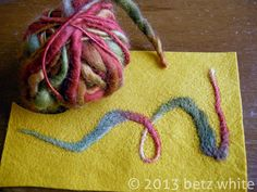 betz white: New Tool: Felting Machine