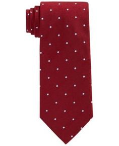 Brooks Brothers Dot Tie  - Red