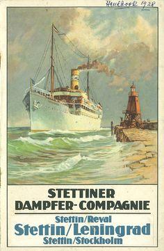 SDC Stettiner Dampfer Co. Buque Preussen