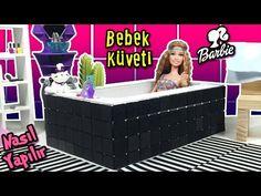 Barbie Banyo Küvet Yapımı - Kendin Yap Barbie Bebek Evi Eşyaları - Oyuncak Yap - YouTube