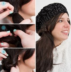 38 Best Frisuren Für Mützen Hüte & Caps Images On Pinterest New