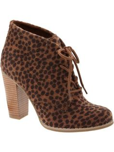 Women's Faux-Animal Fur Ankle Boots Product Image