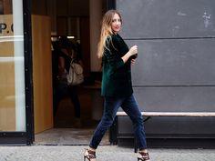 velvet, blazer, business, office, autumn, fall, trends, 2015