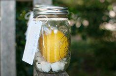 Southern weddings - lemon wedding ideas