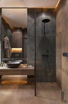 Washroom Design, Bathroom Design Luxury, Modern Bathroom Decor, Bathroom Layout, Modern Bathroom Design, Bathroom Styling, Modern House Design, Toilet Design, Small Luxury Bathrooms