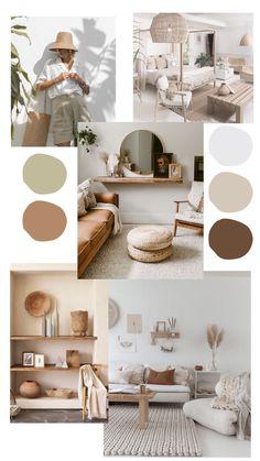 Room Ideas Bedroom, Diy Bedroom Decor, Living Room Decor, Beige Living Rooms, Aesthetic Room Decor, My New Room, Room Colors, Interior Design Living Room, Mood Board Interior