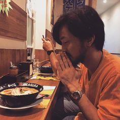Itadakimasu! #ramenkagura #Repost @heineken_fresca