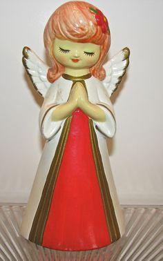 Vintage Christmas Angels | Angel Vintage 1960s Christmas