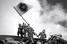 Recreating Famous Photographs via Star Wars.