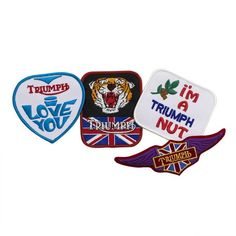 4 x 2 BIKER FOR LIFE Superior High Thread Rayon Quality Hot Leathers Embroidered Patch KEYCHAIN