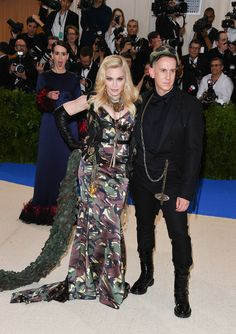 This Reaction To Madonna's Combat Outfit At The Met Gala Is All Of Us