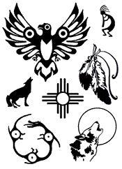 native american tattoo stencils | American Indian Stencil Designs Pic #14