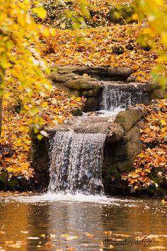 autumn - little waterfall