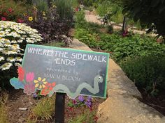 Where the Sidewalk Ends. OnMilwaukee.com Travel & Visitors Guide: 15 enchanting photos from Bookworm Gardens