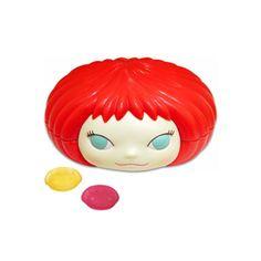 YOSHITOMO NARA Gummi Girl Ringoko limited RED Candy Accessory case.  I am going to need the redhead.