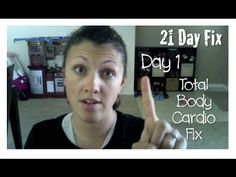 21 Day Fix Day 1 - Total Body Cardio Fix [full workout]
