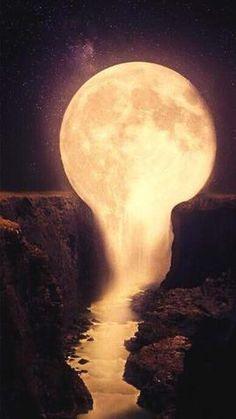 Moon Falls 5D DIY Diamond Painting