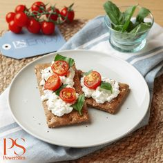 Crackers, Avocado Toast, Low Carb Recipes, Feta, French Toast, Cheese, Breakfast, Cottage, Slim