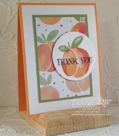 Debbie's Designs: First Friday PDF of the Month! | Fresh Fruit