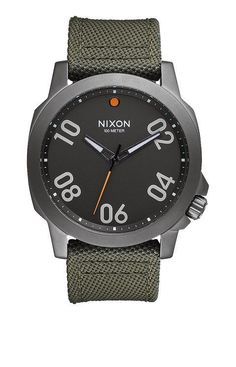 Ranger 45 Nylon. Paving the way for others to follow, Ranger 45 is inspired by military field instruments. Its rugged construction and rotating bezel add to the gravitas of its imposing new stature.
