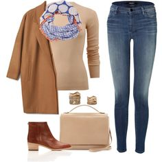 Sans titre #743 by khalesse on Polyvore featuring Michael Kors, J Brand, Loeffler Randall, The Row, Forever 21 and Diane Von Furstenberg