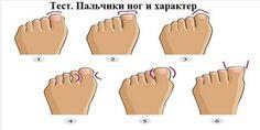 УНИКАЛЬНЫЙ Тест «Пальчики ног и характер»! Прочитаете и вы будете в шоке!! точность на 90-95%! Проверьте себя и друзей, так ли это