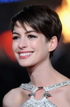 Anne Hathaway Pixie - Short Hairstyles Lookbook - StyleBistro