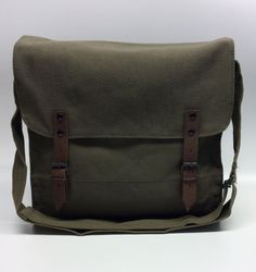 e8e06336f39e Vintage Olive Drab Green Military Surplus Style by SurplusBikeBags Bicycle  Panniers