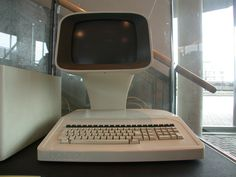 Retro Computer Friday - Today, the Holborn 9100! Although this computer might look like something from the future, that sleek interface hid  a Z80 CPU running at 4 mHz, 72K standard RAM, and ran  CP/M. An optional 30MB hard drive was available for advanced users.