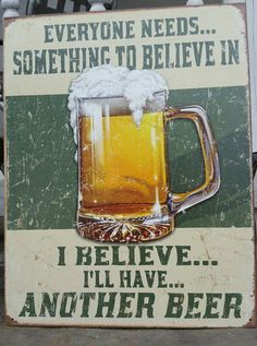 Tin Vintage Style Sign Classic Bar Decor Have Beer Man Cave Garage Wall 12 x 18 | eBay