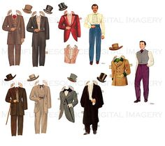 Gone with the Wind Printable Paper Dolls by mindfulresource