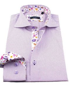 Men's fitted shirts - Sheraton Pink | UrUNIQUE.com
