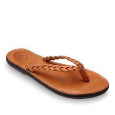 A super comfortable women's leather flip flop sandal with arch support. The Trenza is handmade from real leather & sustainable materials by artisans. Leather Flip Flops Womens, Brave, Used Tires, Flowing Dresses, Leather Conditioner, Leather Accessories, Ethical Fashion, Classic Looks, Flip Flop Sandals