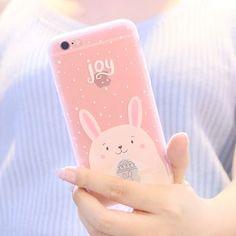 Buy Sea Girl Rabbit Print Mobile Case / Screen Protective Film - iPhone 6/ 6s…