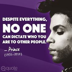 Legendary musician Prince has passed away at the age of 57 today :( #prince #music #quote by quote