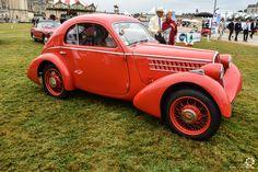 Fiat 508 S Ballila à Chantilly Arts et Elegance #MoteuràSouvenirs Reportage :  http://newsdanciennes.com/2016/09/05/chantilly-arts-et-elegance-2016-creme-creme/ #ClassicCar #VintageCar #Voiture #Ancienne
