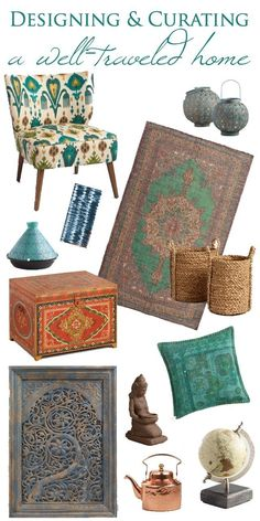 Bohemian Home Decor Finds That Will Make You Look Like a World Traveler #ad #FallHomeRefresh #worldmarkettribe @World