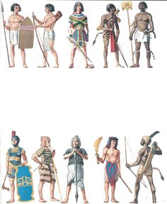 ancient Egyptian troops