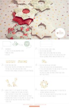 how to make cute mini paper wreaths