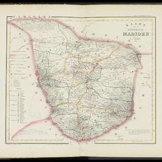 Peta Madiun Peta, Vintage World Maps, Spaces