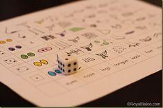 The Gruffalo Roll Game