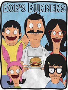 Bob's Burgers Soft Fleece Blanket - Officially licensed colorful Soft Fleece Throw Featuring Bob with a Burger, Linda, Louise, Tina & Gene! Bobs Burgers Gifts, Bobs Burgers Wallpaper, Burger Drawing, Craft Work For Kids, Bobs Burgers Characters, Belcher Family, Simpsons Drawings, Mini Canvas, Small Canvas