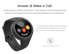 Buy Global Version Xiaomi Huami AMAZFIT Verge 3 GPS Smart Watch IP68 AMOLED Screen Answer Calls Smartwatch Multi Sports for MI MI8-in Smart Watches from Consumer Electronics on Aliexpress.com | Alibaba Group | Hepsia Samsung Accessories, Cell Phone Accessories, Smart Home Control, Sms Message, Smart Watch, Consumer Electronics, Watches, The Originals, Alibaba Group