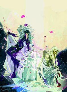 Afrodita de Piscis y Shaka de Virgo