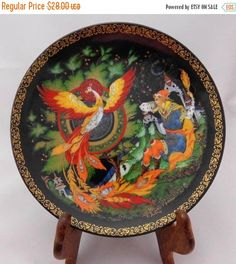 Unique Vintage Collector Plate  The Magnificent by Pastfinds