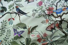 KN17 13841-320 Trikotstoff lovely birds hellgrün