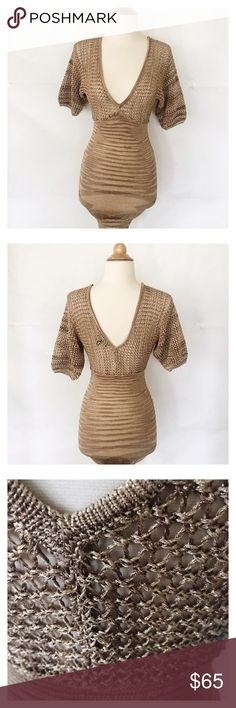 Bebe bodycon sweater dress Perfect condition. bebe Dresses